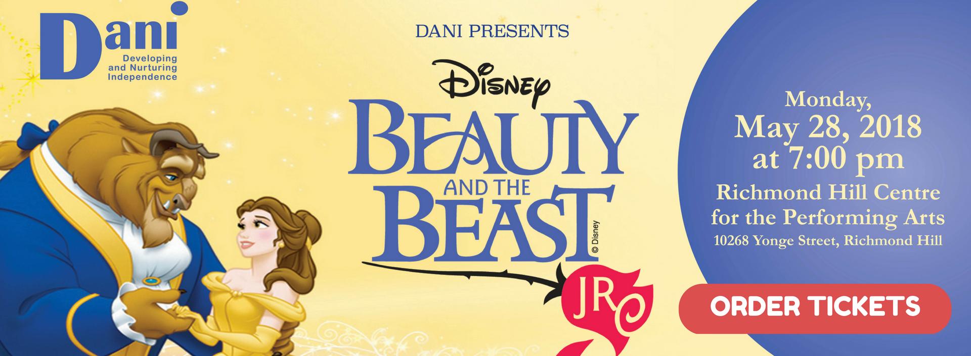 DANI Presents: Disney's Beauty and the Beast Jr.