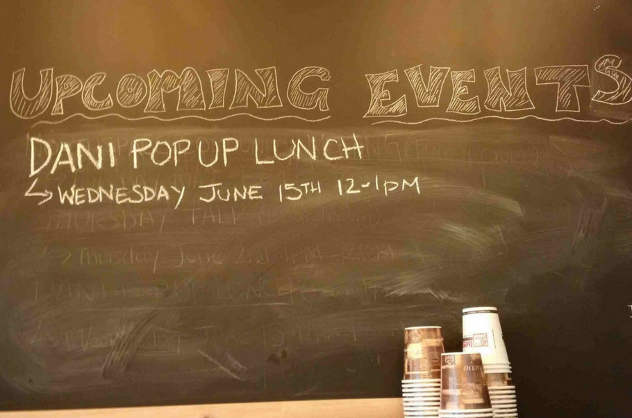 Pop Up Lunch