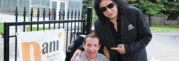 Visit with Gene Simmons (KISS) at the DANI Centre