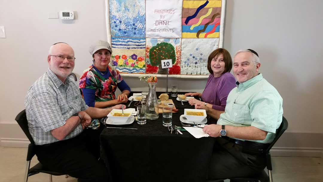 Dining at the DANI Café